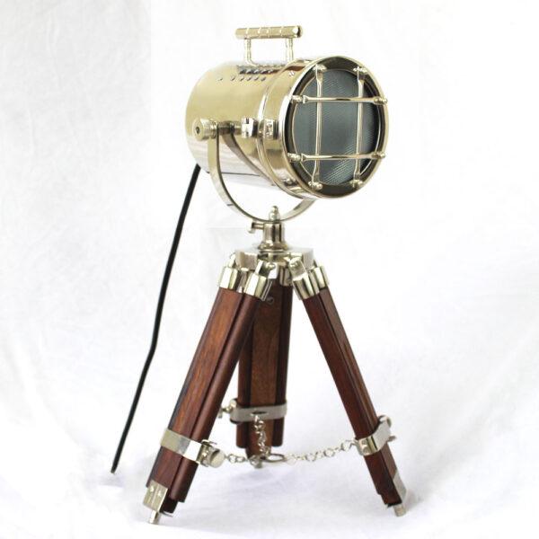 Antique Spot Light Tripod Vintage Lamp 1