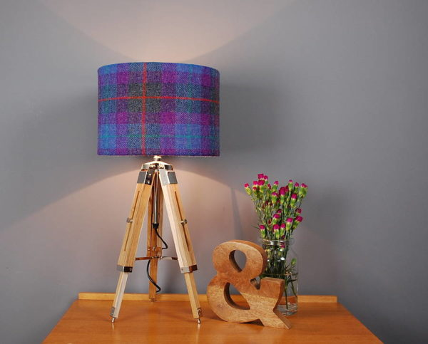 Royal Nautical Table Lamp Vintage Brown Tripod Lamp Shade Home Decor