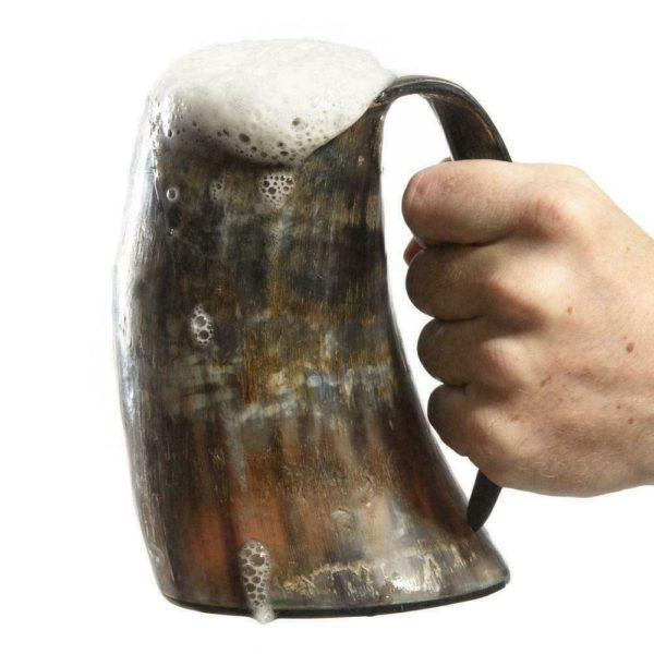 Viking Drinking Horn Cups Steins Mugs For Beer Wine Mead Ale GOT 1