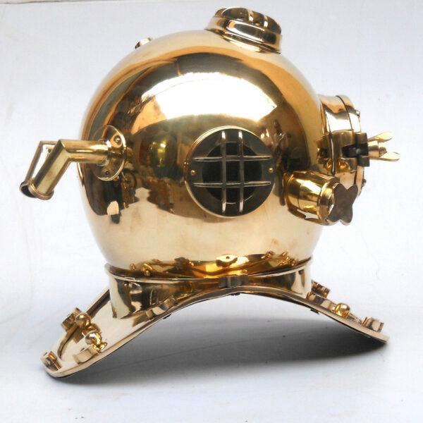 Nautical Sea Marine Diver Helmet Antique Diving Sailor Brass Helmet Collectible 2