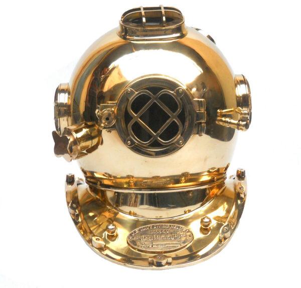 Nautical Sea Marine Diver Helmet Antique Diving Sailor Brass Helmet Collectible 3