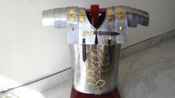 New Lorica Segmentata Roman Legionnaires Medieval Armor Breastplate Costume 1