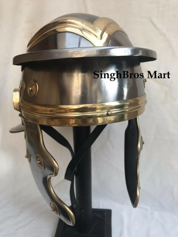 Roman Helmet, Armor Barbute Helmet, Armor Bracer/Arm Guard, Armor Costume, Armor Gloves