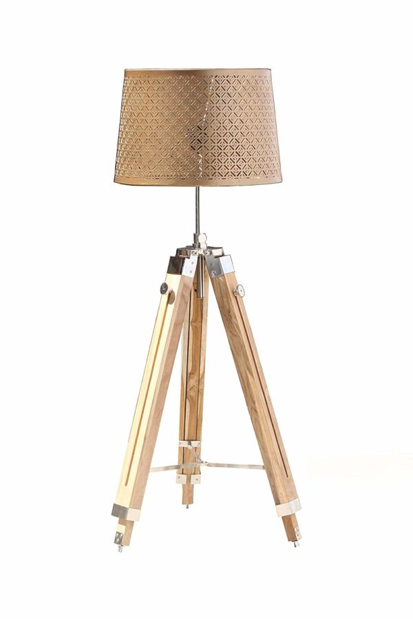 Nautical Tripod Shade lamp