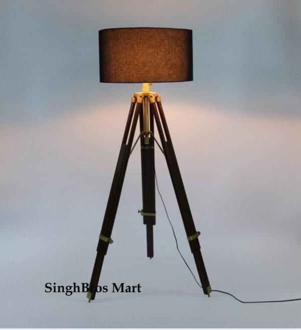 Nautical Beautiful Shade Lamp Table Tripod Stand Home Decor 1