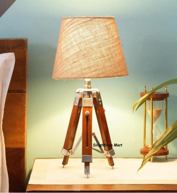 led table lamp, desk light, tripod stand