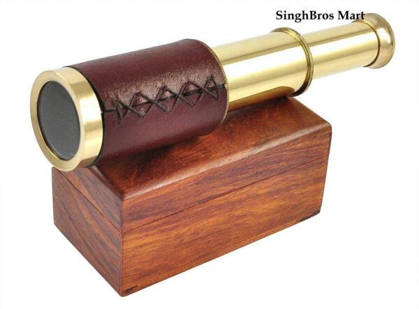 pull out telescope, handheld telescope, antique telescope, nautical telescope
